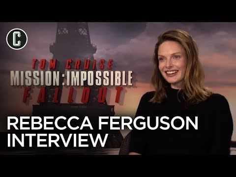 "Rebecca Ferguson Talks Mission: Impossible – Fallout, Tom Cruise and Plays ""Ice Breakers"""