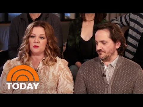 Melissa McCarthy And Husband Ben Falcone Spotlight New  'Nobodies'  TODAY
