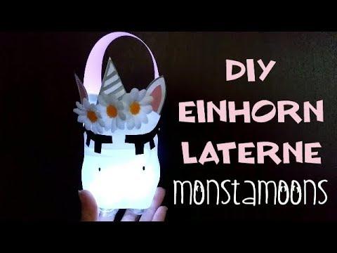 Einhorn Laterne Youtube