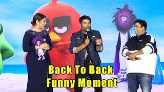 Kapil Sharma Film Angry Birds Trailer Launch | Back to Back FUNNY Moments