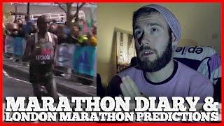 60 Days To Run A Marathon - Diary 4 - London Marathon Predictions/Review | #CODEFIERCE