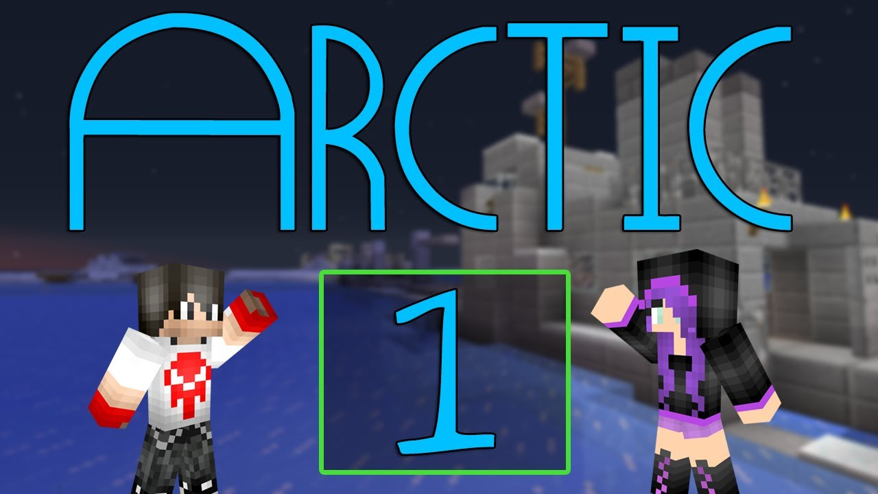 Minecraft ARCTIC  Survival Map  1  Minecraft ROMANIA NONAME