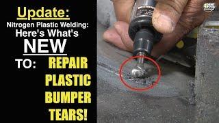 DF-EZN1G The Secret to Quick & Easy Plastic Bumper Tear Repair