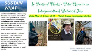 In Praise of Plants – Callahan, Patterson & Raven in an Intergenerational Botanical Jam