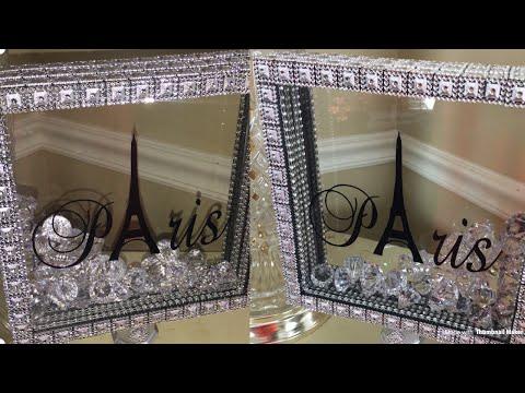 💎💎DIY Glam Shadow Box   PARIS Themed Room Decor Ideas 💎💎
