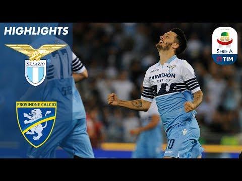 Lazio 1-0 Frosinone   Luis Alberto segna e la Lazio trionfa   Serie A