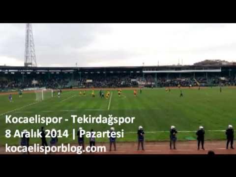 Kocaelispor - Tekirdağspor Karşılaşmasında Gol Anı | Kocaelispor Blog
