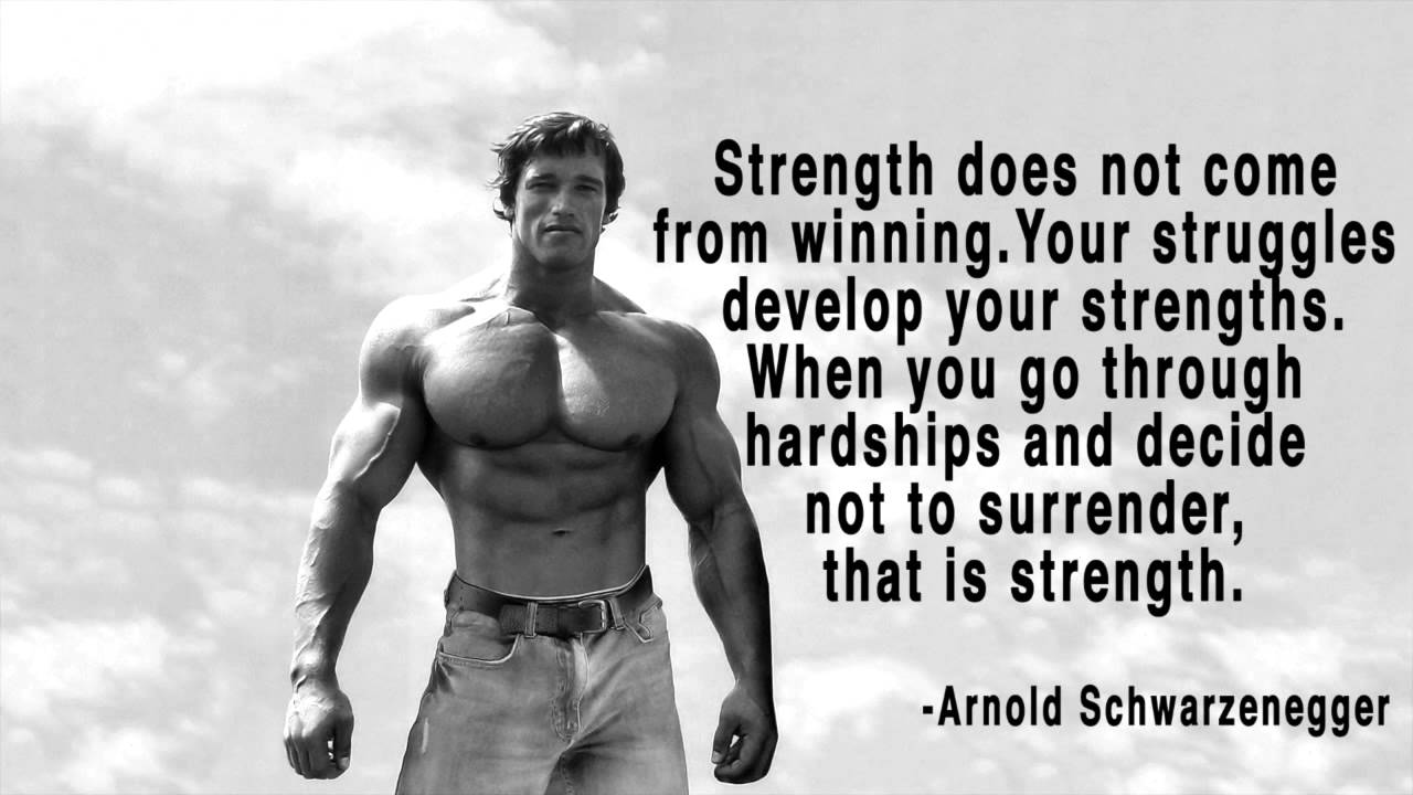 Arnold's Motivational Speech