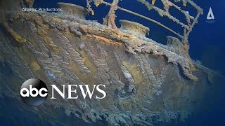 Video: 1st underwater expedition made to the Titanic in 14 years