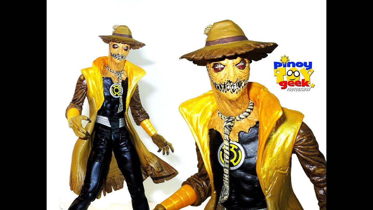 Yellow Lantern SCARECROW DC Direct (unboxing) HD - YouTube
