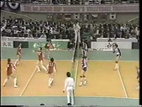 URSS VS CHINA COPA JAPON 1984 VOLLEYBALL