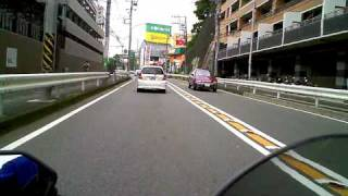 Ninja 250R & VadoHD 車載動画テスト