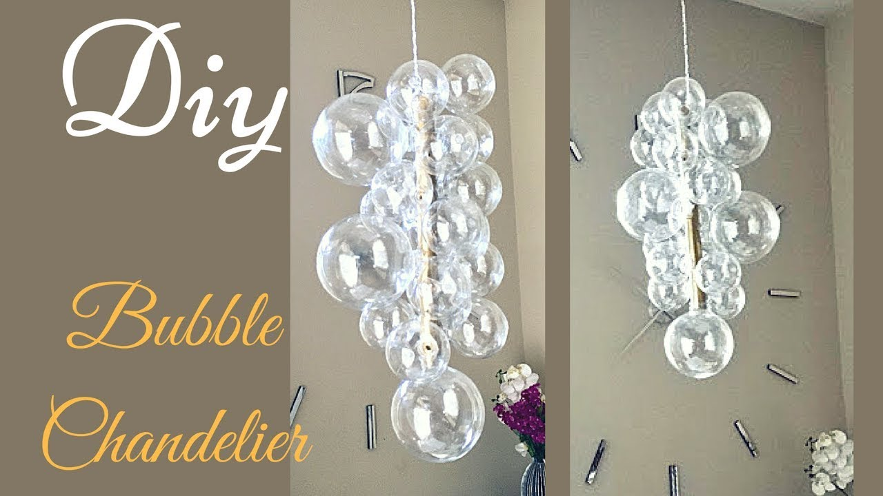 Diy glam bubble chandelier that is quick and easy to make youtube diy glam bubble chandelier that is quick and easy to make aloadofball Gallery