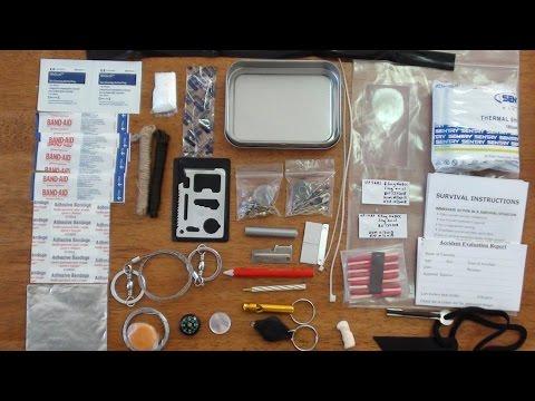 SAS Survival Kit In A Tin Australian Updated Version