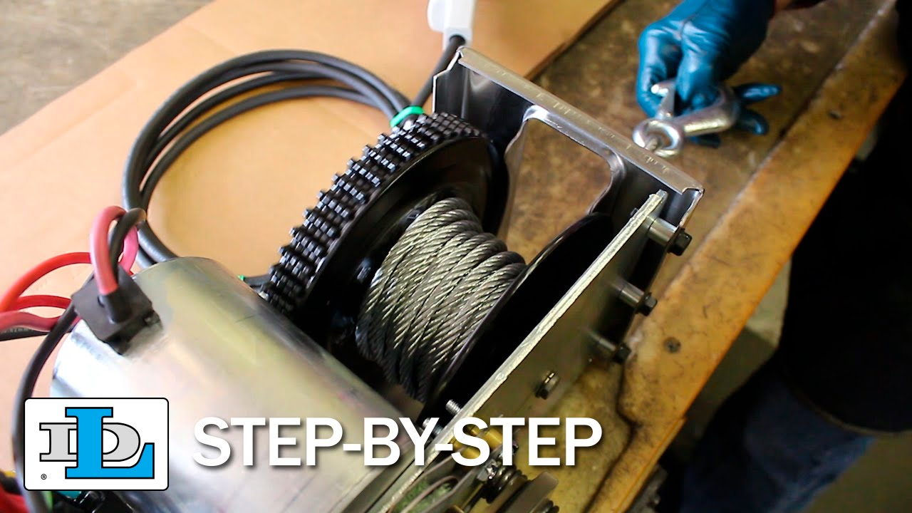 hight resolution of replacing cable on 9000 and 12000 strongarm winches step by step youtube