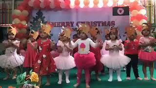 Khmer kid dance Cover Song at School Chicken dance 2018