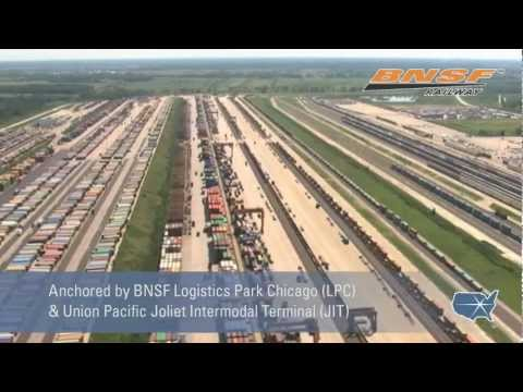 CenterPoint Intermodal Center - North America's Largest Inland Port