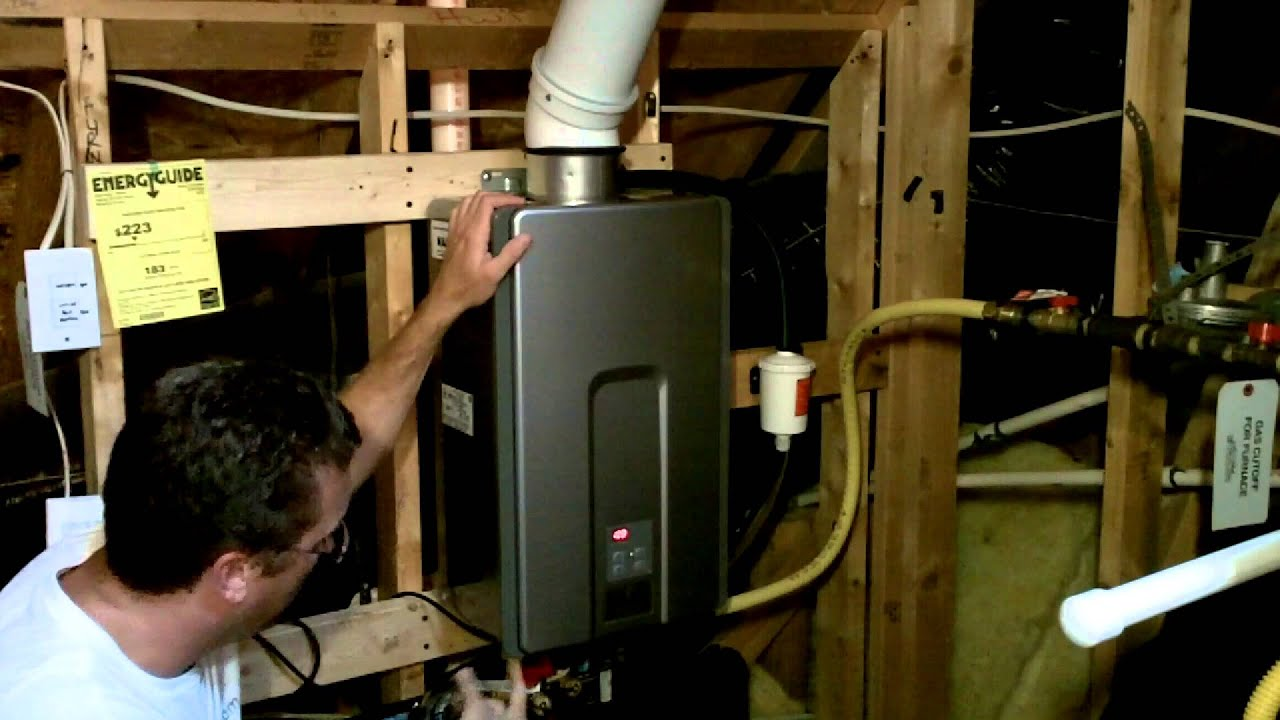 Converting To A Tankless Hot Water Heater Youtube