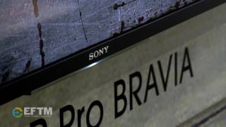 Sony Z Series Pro Bravia - the BEST BRAVIA TV ever - on show at Integrate Sydney