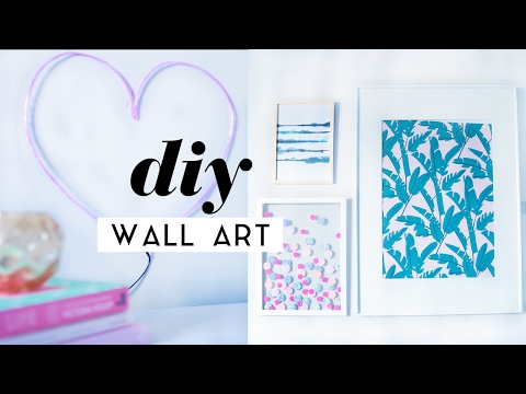 diy-wall-art-room-decor-pieces-|-gallery-wall-ideas-2017