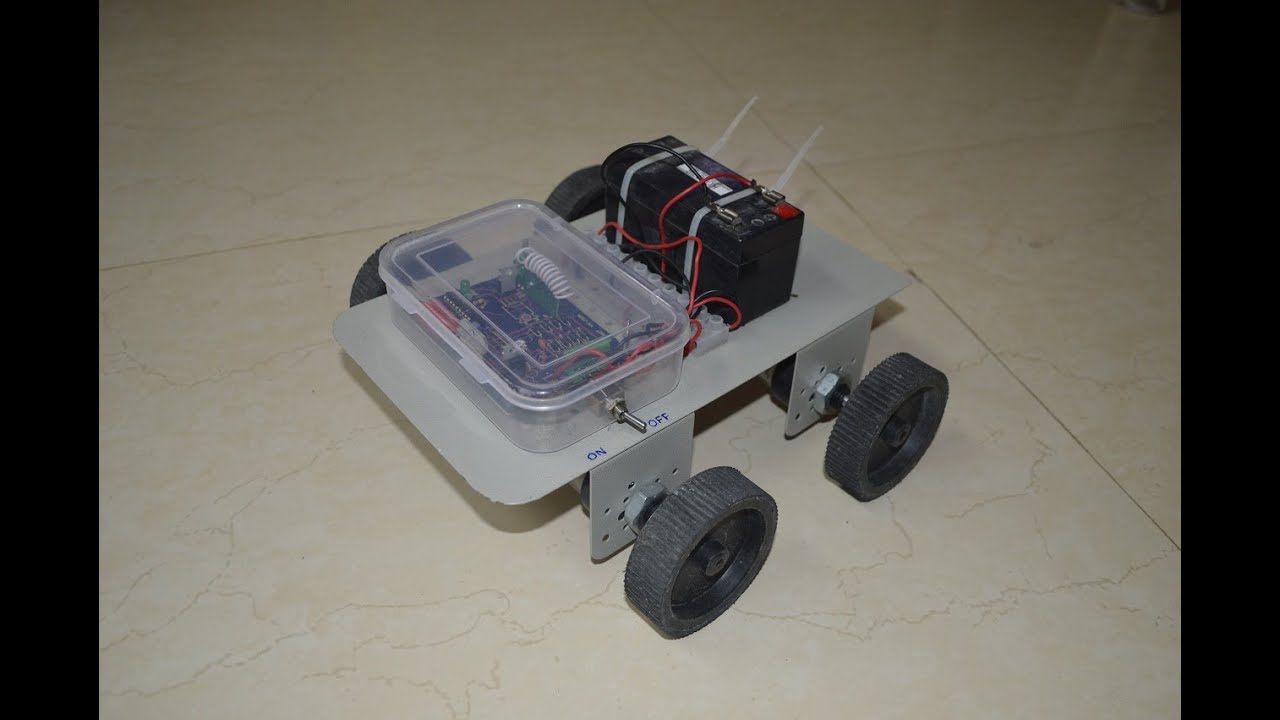 How To Make A Wireless Robot Youtube