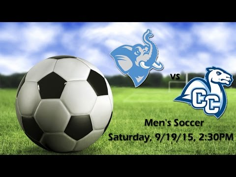 Fall 2015 - Men's Soccer - Tufts Jumbos vs. Conn. College Camels