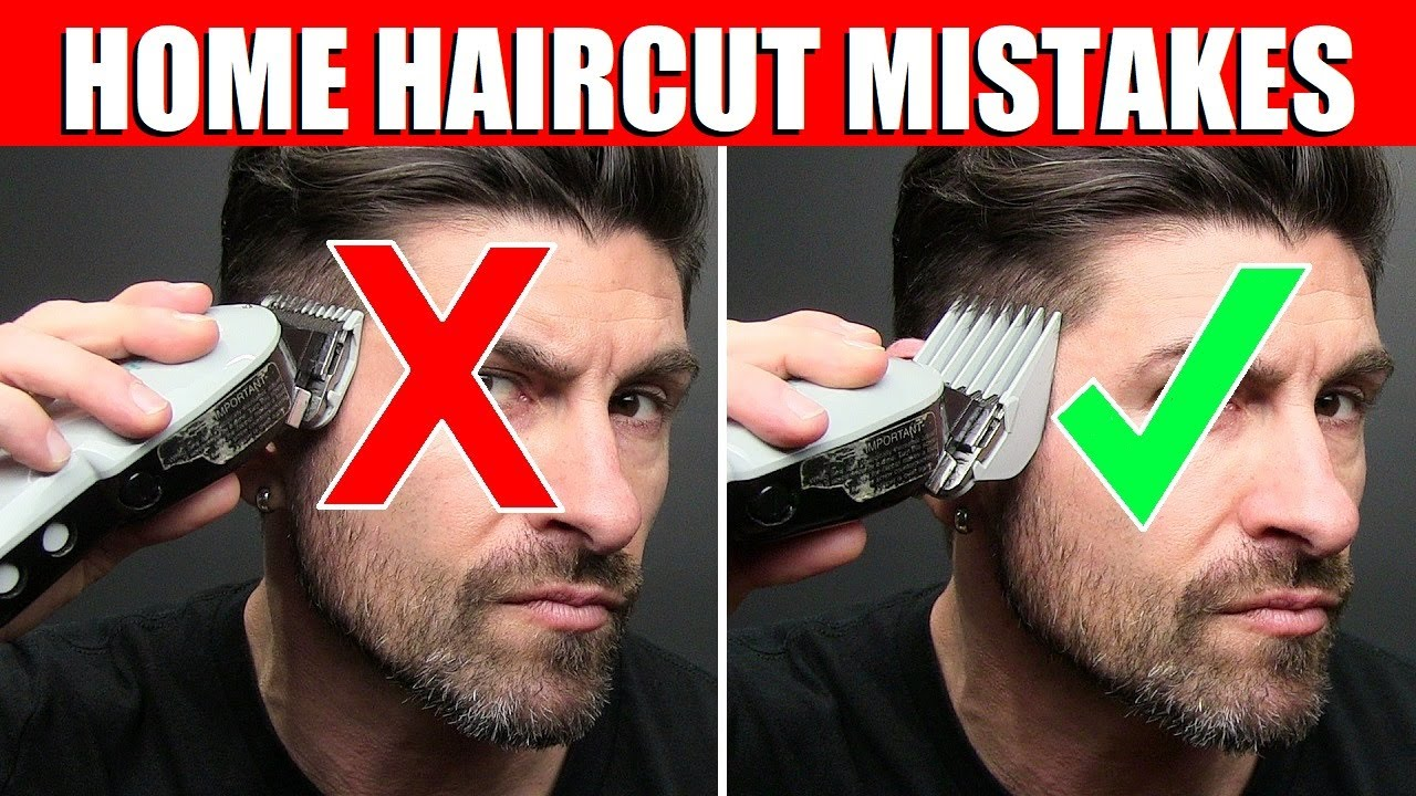 TOP 12 How to Cut Your Hair at Home MISTAKES Men Make! (WATCH BEFORE YOU CUT)