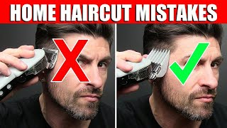 TOP 5 How to Cut Your Hair at Home MISTAKES Men Make! (WATCH BEFORE YOU CUT)