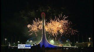 Пиротехнические соревнования в Олимпийском парке собрали немало зрителей