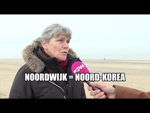 Noord-Koreaanse toestanden in Noordwijk