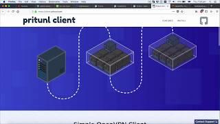 Cài đặt và cấu hình VPN server với Pritunl