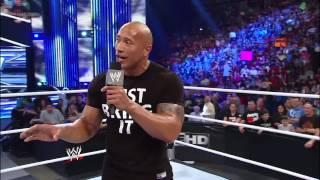 """The Rock returns to """"his"""" show for the first time in 10 years: SmackDown, Jan. 11, 2013"""