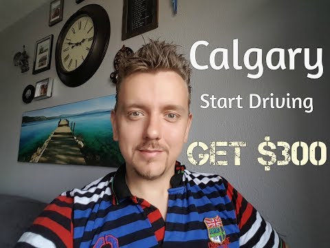 How To Start Driving For Uber In Calgary, AB.