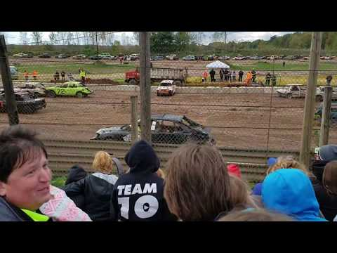 "Paradise Speedway Fall Clean Up ""Youth"" Demolition Derby"