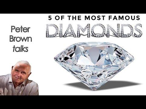 Diamonds: Hope, Koh-i-Noor, Cullinan, Golden Jubilee and Centenary
