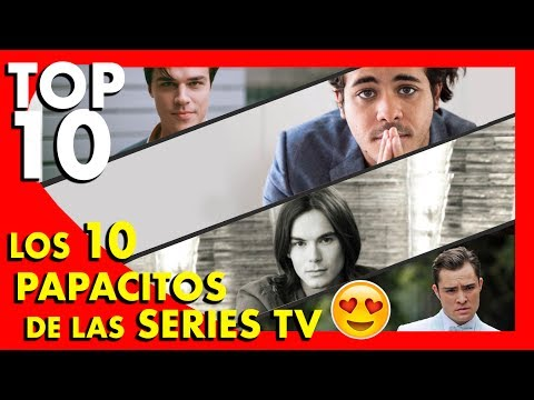 Los 10 actores más guapos de las series de TV  - Top Ten #56 | Popcorn News