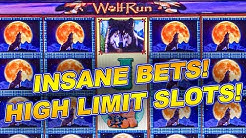 $40 BETS! ➜ WOLF RUN HIGHT LIMIT  ➜ CLASSIC BIG WINS!