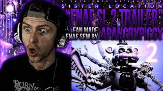 "Vapor Reacts #512 | FNAF SL ANIMATION ""Sister Location 2 Trailer"" Fan Made by APAngryPiggy REACTION!"