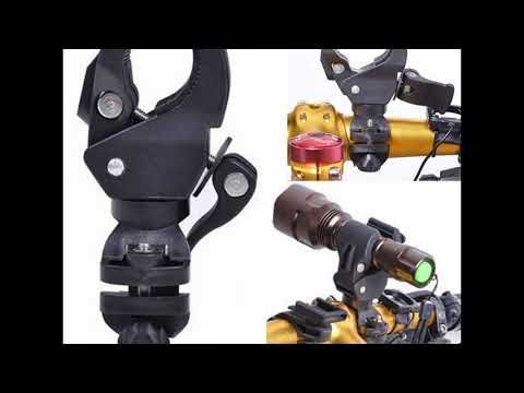 Flashlight Mounting Bracket Bike Flashlight Holder Cycling  Bicycle Bike Mount LED Flashlight Torch