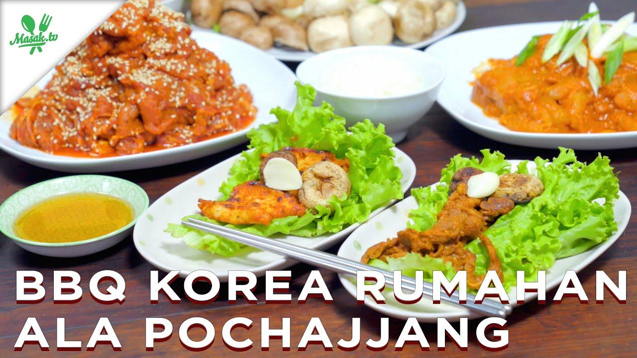BBQ Korea Rumahan Ala Pochajjang