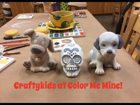 CraftyKids Studio At Color Me Mine!