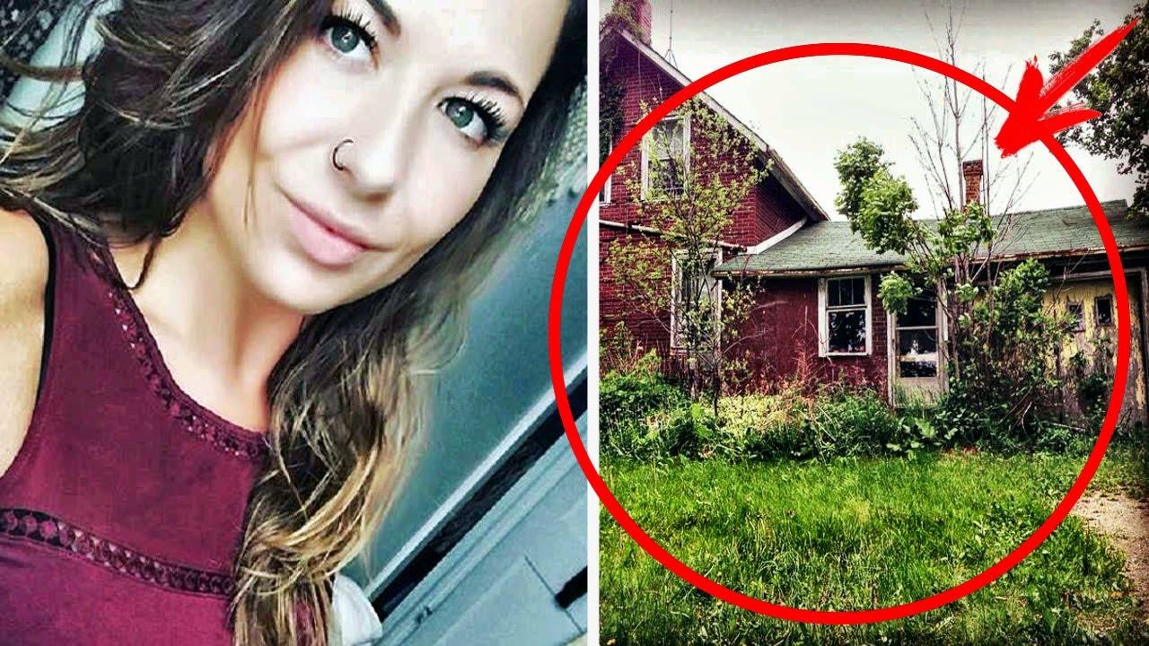 Това момиче е открило забравен дом в гората, ще се удивите какво е открила в него!