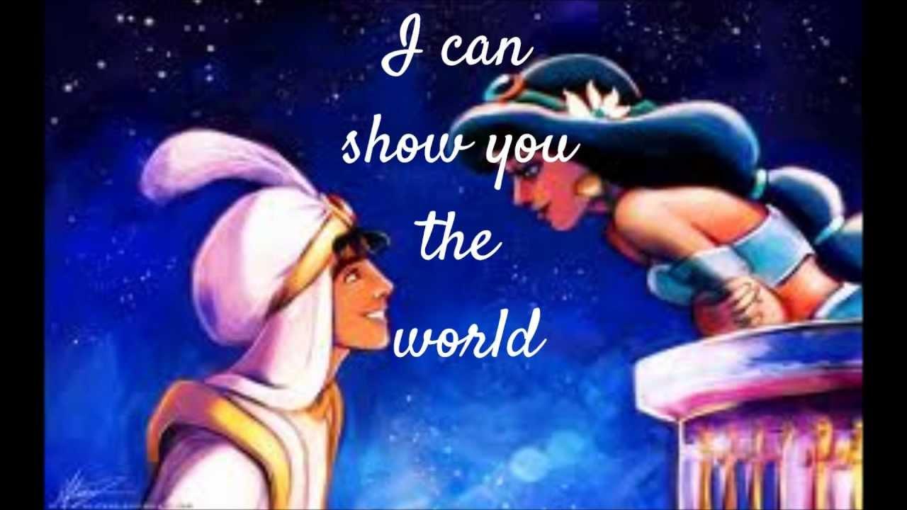 A Whole New World Aladdin Theme Songwmv
