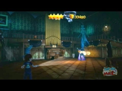 Haunted Mansion Gameplay In Kinect Disneyland Adventures