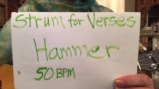 "Strum for ""If I Had a Hammer"""
