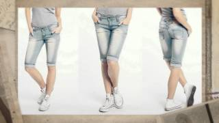 С чем носить джинсовые бриджи(Пожалуй, практически у каждой девушки в гардеробе найдутся джинсовые элементы одежды. Джинсовая мода лето..., 2014-07-25T07:27:13.000Z)