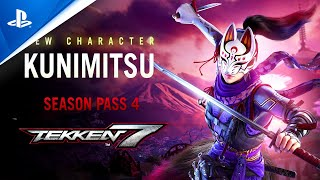 Tekken 7 |  Season 4 Kunimitsu Reveal Trailer | PS4
