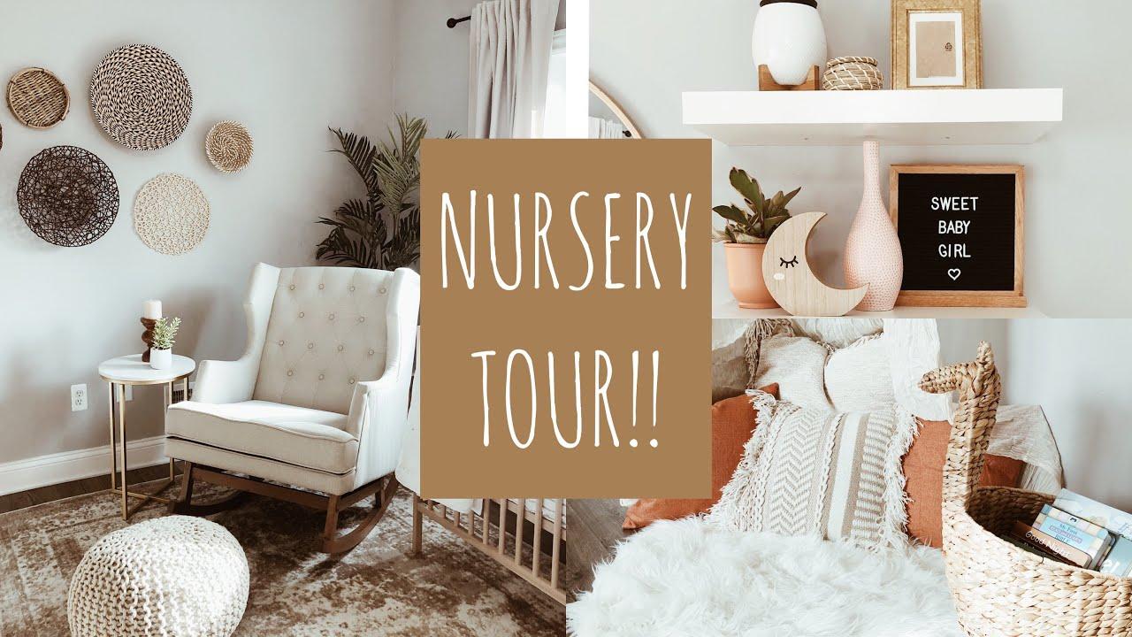 Baby Girl Nursery Tour || Milena Ciciotti - YouTube
