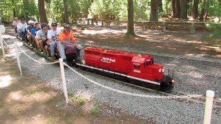 Waushakum Live Steamers Annual 2013 Meet (Ride on trains!)