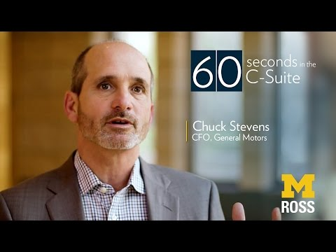 Chief Financial Officer of General Motors - 60 Seconds in the C-suite